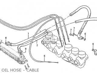 Honda Cbx1000 Supersport 1982 (c) Australia parts list