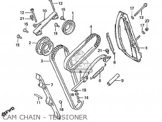 Honda Cbx1000 Supersport 1982 (c) France parts list