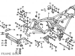 Honda Cbx1000 Supersport 1982 (c) France parts list