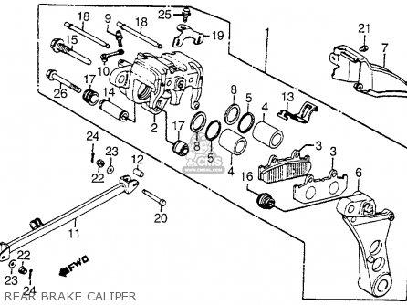 Honda 1986 To 1987 Trx250r Wiring Diagram Wiring Diagram