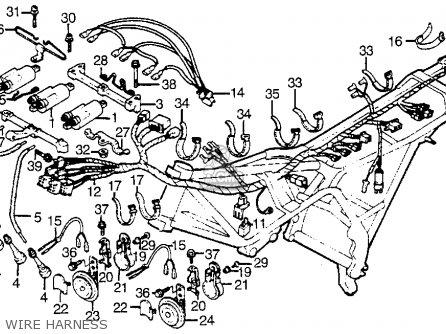 Honda Cbx1000c Super Sport 1982 (c) Usa parts list