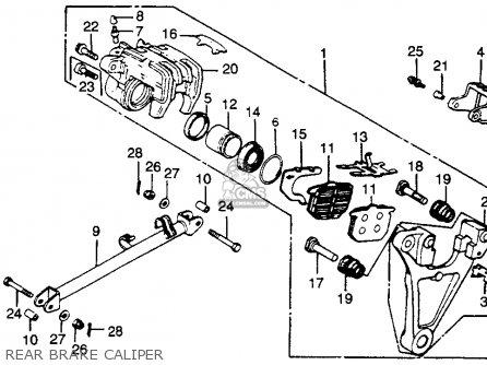 Honda Cbx1000z Super Sport 1979 Usa parts list partsmanual