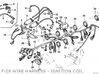 Honda CBX550F 1982 (C) parts lists and schematics
