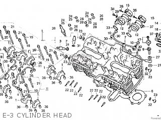 Honda CBX550F 1983 (D) parts lists and schematics