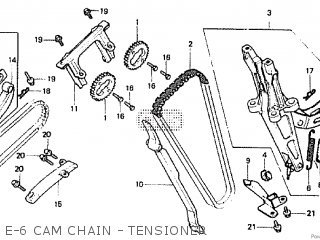 Honda CBX550F2 1982 (C) parts lists and schematics