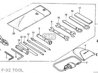 Honda CBX550F2 1983 (D) parts lists and schematics