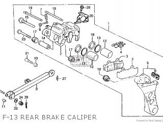Honda CBX750F 1984 (E) parts lists and schematics