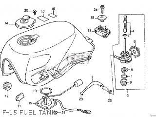 Honda CBX750F2 1986 (G) parts lists and schematics