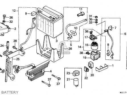 Wiring Diagrams Honda Cbx Honda Design Diagram Wiring