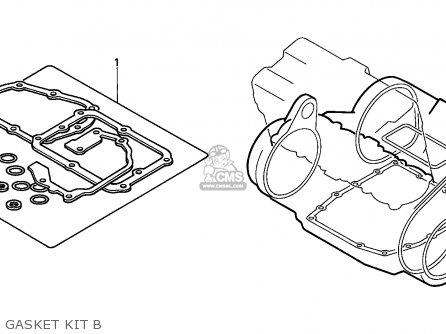 Honda Cbx750p 1987 (h) General Export / Kph Plr parts list