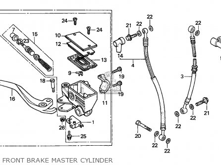 Honda CBX750P 1987 (H) KOREA parts lists and schematics