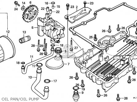 Honda CBX750P 1987 (H) KOREA parts lists and schematics
