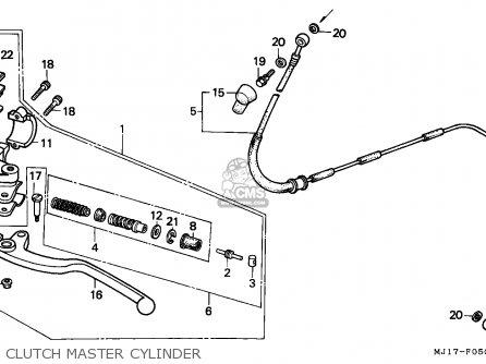 Honda CBX750P2 1987 (H) GENERAL EXPORT / MPH PLB parts