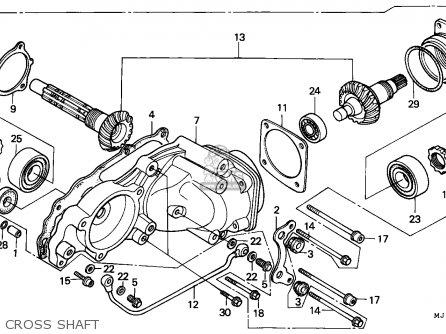 Honda Cbx750p2 1987 Morocco / Plb parts list partsmanual