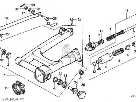 Honda CBX750P2 1998 (W) THAILAND parts lists and schematics