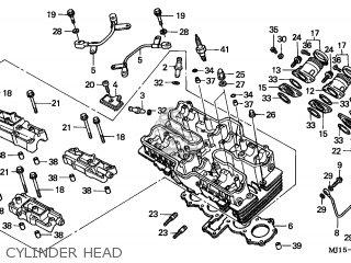 Honda CBX750P2 2001 (1) GENERAL EXPORT / KPH MK PLR parts