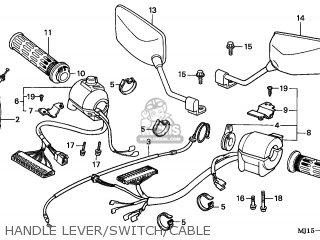 Honda CBX750P2 2001 (1) GENERAL EXPORT / TYPE 5 KPH MK PLR