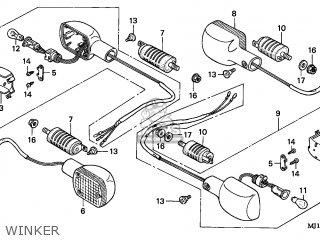 Honda CBX750P2 2001 (1) GENERAL EXPORT / TYPE 6 KPH PLB