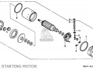 Honda CBX750P2 2001 (1) MOROCCO / BLA MK PLB parts lists
