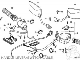 Honda CBX750P2 2001 (1) PERU parts lists and schematics