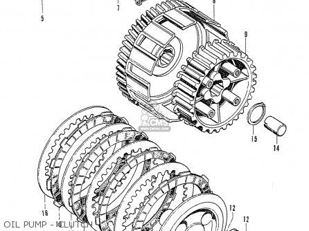 Honda CD125K3 parts lists and schematics