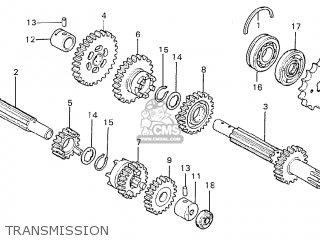 Honda Cd175 A5 England parts list partsmanual partsfiche