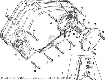 Honda Cd175 K3 General Export parts list partsmanual