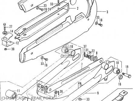Honda Cd175 K4 General Export Single Seat Kph parts list