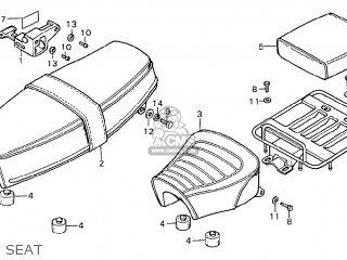 Honda Cd175 K5 General Export parts list partsmanual