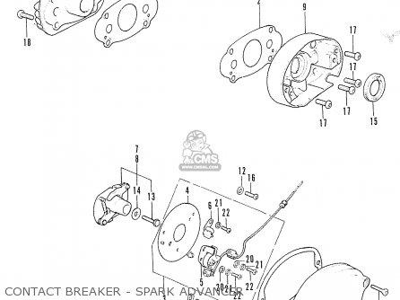 Honda CD175 T4 CANADA parts lists and schematics