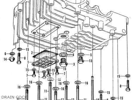 Honda Cd175a Sloper General Export parts list partsmanual