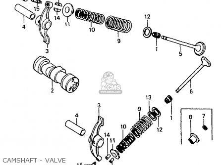 Honda Cd50 1985 (f) Japan Cd50-160 (jdm) parts list