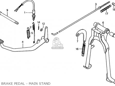 Honda CD50 1992 (N) JAPAN CD50-190 (JDM) parts lists and