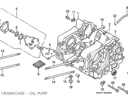 Honda Cd50 1993 (p) General Export Kph parts list