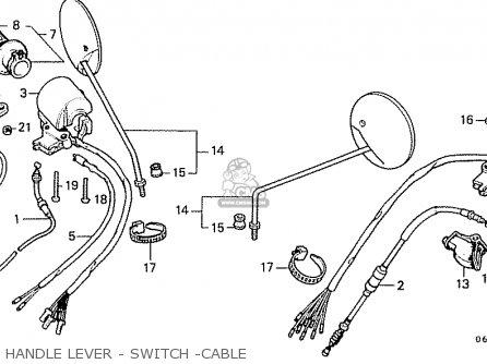 Honda CD50 1993 (P) GENERAL EXPORT KPH parts lists and