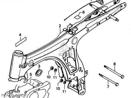 Honda CD50 1995 (S) JAPAN CD50-210 (JDM) parts lists and