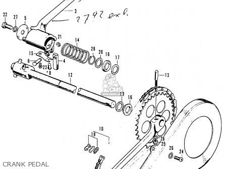 Honda Cd50h (holland) parts list partsmanual partsfiche