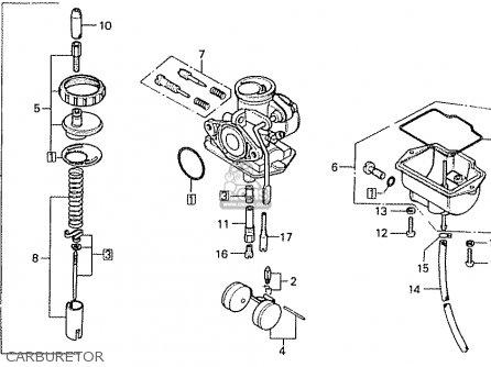 Honda Cd50k1 Denmark parts list partsmanual partsfiche
