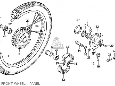 1964 Honda 50 Wiring Diagrams Honda Sl70 Wiring Diagram