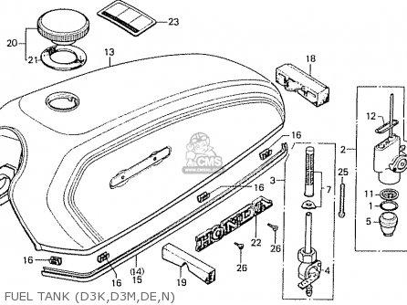 Honda CD50K1 NORWAY parts lists and schematics
