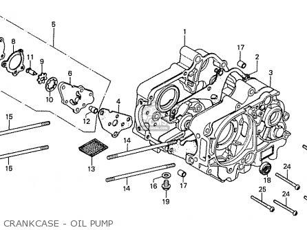 Honda Cd70k1 General Export Type 3 Kmh parts list