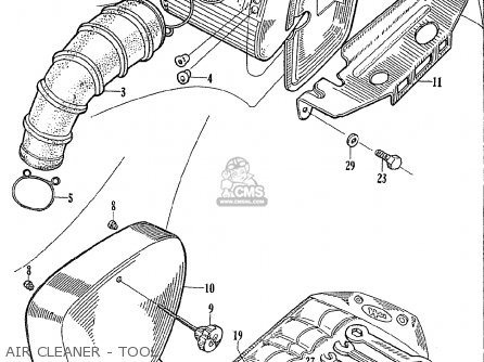 Honda Ce71 Dream Super Sport parts list partsmanual partsfiche