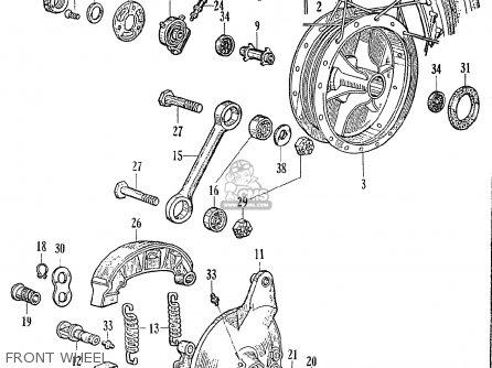 Honda CE71 DREAM SUPER SPORT parts lists and schematics
