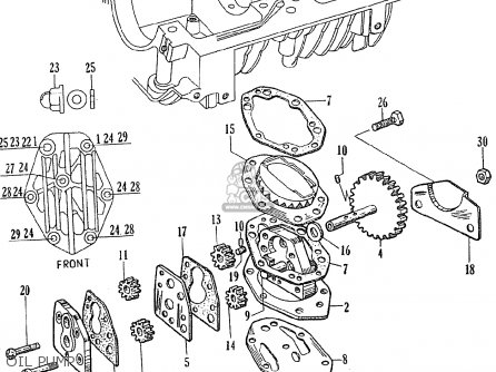 Honda Ce71 Dream Super Sport parts list partsmanual partsfiche