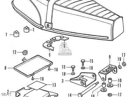 Honda CF50 CHALLY GENERAL EXPORT parts lists and schematics