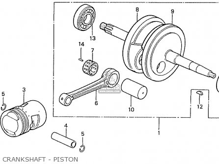 Honda CF50C CHALLY GENERAL EXPORT parts lists and schematics