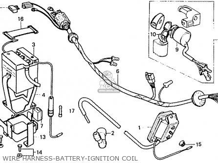 Honda Cf50c Chally General Export parts list partsmanual