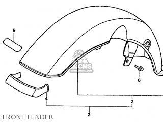 Honda CF50P JAPANESE HOME MARKET (CF50-370) parts lists