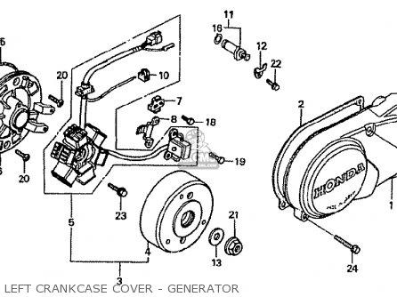 Honda Cf50p Japanese Home Market (cf50-370) parts list