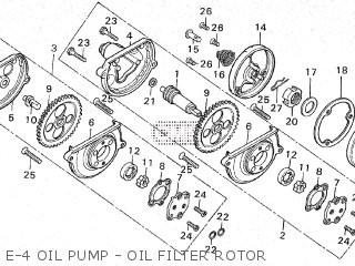 Honda CG110 GENERAL EXPORT parts lists and schematics